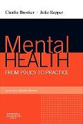 Mental Health: From Policy to Practice