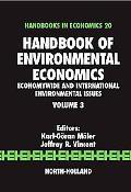 Handbook of Environmental Economics Economywide and Internationalenvironmental Issues