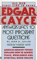 Edgar Cayce Answers Life's 10 Most Important Questions - John Grant Fuller - Mass Market Pap...