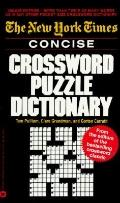 New York Times Concise Crossword Puzzle Dictionary