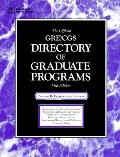The Official Gre Cgs Directory of Graduate Programs: Engineering, Business (15th ed)