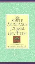 The Simple Abundance Journal of Gratitude - Sarah Ban Breathnach - Hardcover