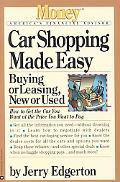 Car Shopping Made Easy Buying or Leasing, New or Used