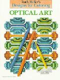 Ruth Heller's Designs for Coloring Optical Art