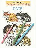 Ruth Heller's Designs for Coloring Cats