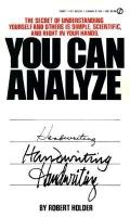 You Can Analyze Handwriting
