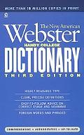 New American Webster Handy College Dictionary Includes Abbreviations, Geographical Names, Fo...