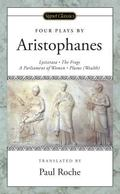 Four Plays by Aristophanes Lysistrata/The Frogs/A parliament of Women/Plutus(Wealth)