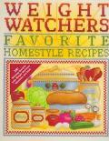 Weight Watchers Favorite Homestyle Recipes