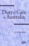 Duty of Care in Australia