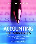 Accounting for Managers Interpreting Accounting Information for Decision-making