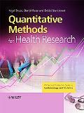 Quantitative Research Methods for Health Professionals