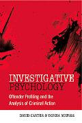 Investigative Psychology Analysing Criminal Action