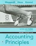 Accounting Principlles Working Papers Chapters 13-26