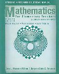 Student Hints and Solutions to Accompany Mathematics for Elementary Teachers: A Contemporary...