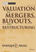 Valuation for Mergers, Buyouts, and Restructuring with CDROM