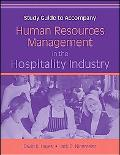 Study Guide to Accompany Human Resources Management in the Hospitality Industry