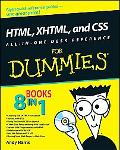 HTML, CSS and XHTML All-in-One Desk Reference For Dummies