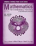 Mathematics for Elementary Teachers: Virginia Correlation Book: A Contemporary Approach