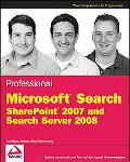 Professional SharePoint Search