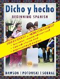 Dicho Y Hecho 8th Edition, Vol. 2, the Complete SE Custom Text