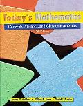 Today's Mathematics: Concepts, Classroom Methods, and Instructional Activities