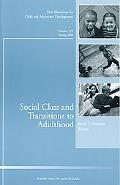 Social Class and Transitions to Adulthood