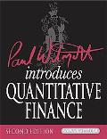 Paul Wilmott Introduces Quantitative Finance