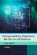 Semiparametric Regression for the Social Sciences