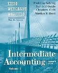 Problem Solving Survival Guide, Volume II (Chapters 15-24) to accompany Intermediate Accounting