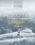 Working Papers Volume I to Accompany Accounting, 3rd Edition