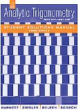 Analytic Trigonometry with Applications, Student Solutions Manual