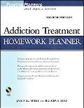 Addiction Treatment Homework Planner (PracticePlanners?)