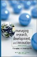 Management of Research, Development, and Innovation: Managing the Unmanageable (Wiley Series...