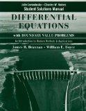 Student Solutions Manual t/a Differential Equations with Boundary Value Problems