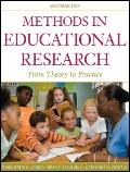 Methods in Educational Research: From Theory to Practice (Research Methods for the Social Sc...