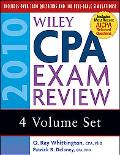 Wiley CPA Exam Review 2010, 4-volume Set (Wiley Cpa Examination Review (4 Vol Set))