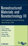 Nanostructured Materials and Nanotechnology III (Ceramic Engineering and Science Proceedings)