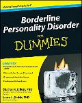 Borderline Personality Disorder For Dummies (For Dummies (Health & Fitness))