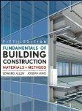 Fundamentals of Building Construction: Materials  and Methods 5th Edition with Exercises in ...
