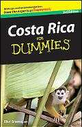 Costa Rica For Dummies (Dummies Travel)