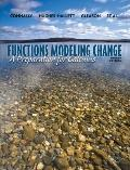 Functions Modeling Change: A Preparation for Calculus, 4th Edition