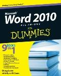 Word 2010 All-in-One For Dummies (For Dummies (Computer/Tech))