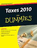 Taxes 2010 For Dummies (Taxes for Dummies)
