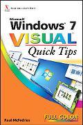 Windows 7 Visual Quick Tips
