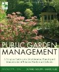 Public Garden Management