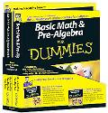 Basic Math and Pre-Algebra For Dummies Education Bundle