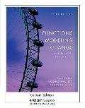 Functions Modeling Change : A Preparation for Calculus 3rd Edition for University of Texas A...