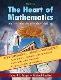The Heart of Mathematics: An Invitation to Effective Thinking (Key Curriculum Press)