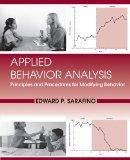 Applied Behavior Analysis: Principles and Procedures in Behavior Modification